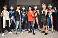 Cosmos, Agul, Gaia, Dyna & their hosts actors