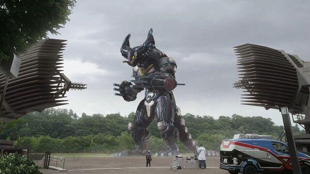 File:Ultraman X-Cyber Gomora Screenshot 001.jpg