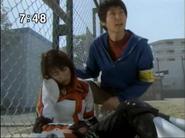 Kaito saves Mizuki