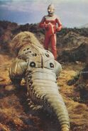 Ultraseven vs Gabura