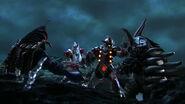 Jean-bot and Jean-nine vs Alien Temperor & Tyrant