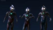 Tiga, Dyna & Gaia