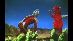 Ultraseven vs Reconstructed Pandon