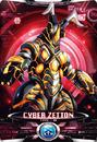 Ultraman X Cyber Zetton Card