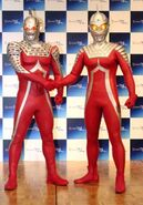 Ultraseven and Ultraseven X