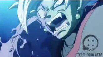 Dragon ball super abridged Trunks kills Zamasu by Team Four Star