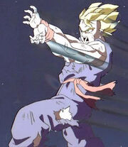 Gohan's Attack