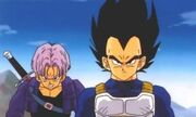 Trunks and his father
