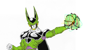 DBZ Cell by Wagnard