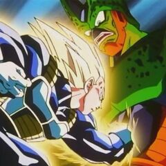 Vegeta domination over Cell