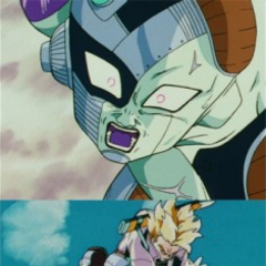 Frieza being sliced into sushi by a 17 yearold FTW!!!