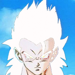 Gotek as an adult Super Saiyan 5.