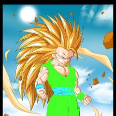 Gotek as a Super Saiyan 3