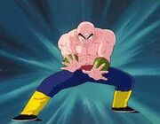 Tien uses the evil containment wave