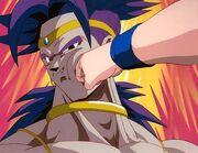 Broly and Goku