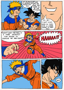 Goku beats Naruto pt. 1