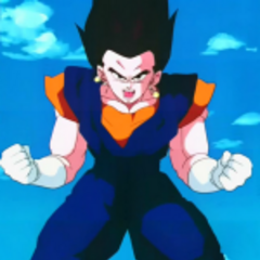 HAHA FOR NO PARTICULAR REASON I FUSED WITH VEGETA.