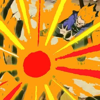 fss trunks using flaming attack