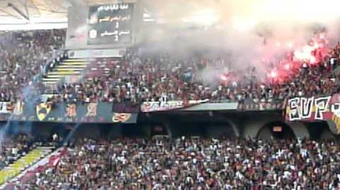 Tunis Derby Espérance - Club Africain 2008 2009 Pyro-Show