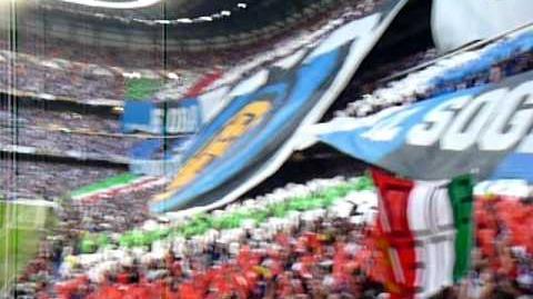 COREOGRAFIA INTER FINALE CHAMPIONS 2010