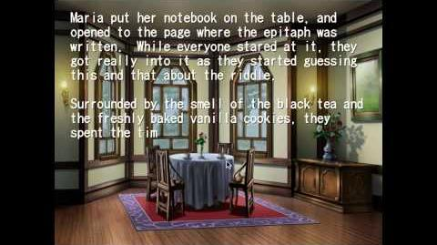 Umineko no Naku Koro Ni Teaparty Episode 1 part 1 with PS3 Tweak Patch .7