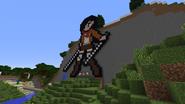 Mikasa pixel art 2
