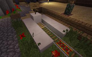 UMS First minecart terminal
