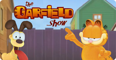 Garfield show card