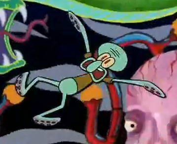 Squidward dies