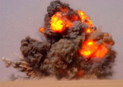 Fight Scene Explosion