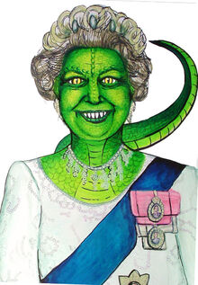 The queen in reptilian form by zucchinii
