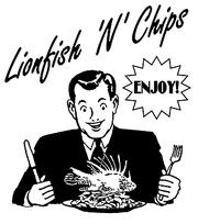 Enjoy lionfish