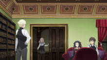 Eliza Bursting into the Disciplinary Committee Chairman's Office to Report Another Case of Devoured Automaton