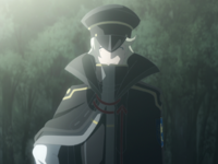 Felix in an Academy Disciplinary Committee Uniform