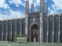 Academy Gates Exterior