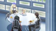 Charlotte having a Teasing Exchange with Raishin