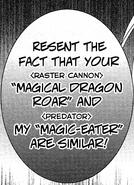 Magical dragon roar