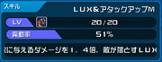 Lux & Attack Up M