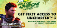 Subway Taste For Adventure sweepstakes