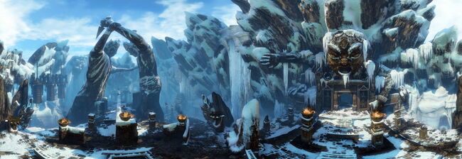 The Ice Cave Panorama