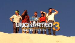 Uncharted 3 Race to the Ring main title