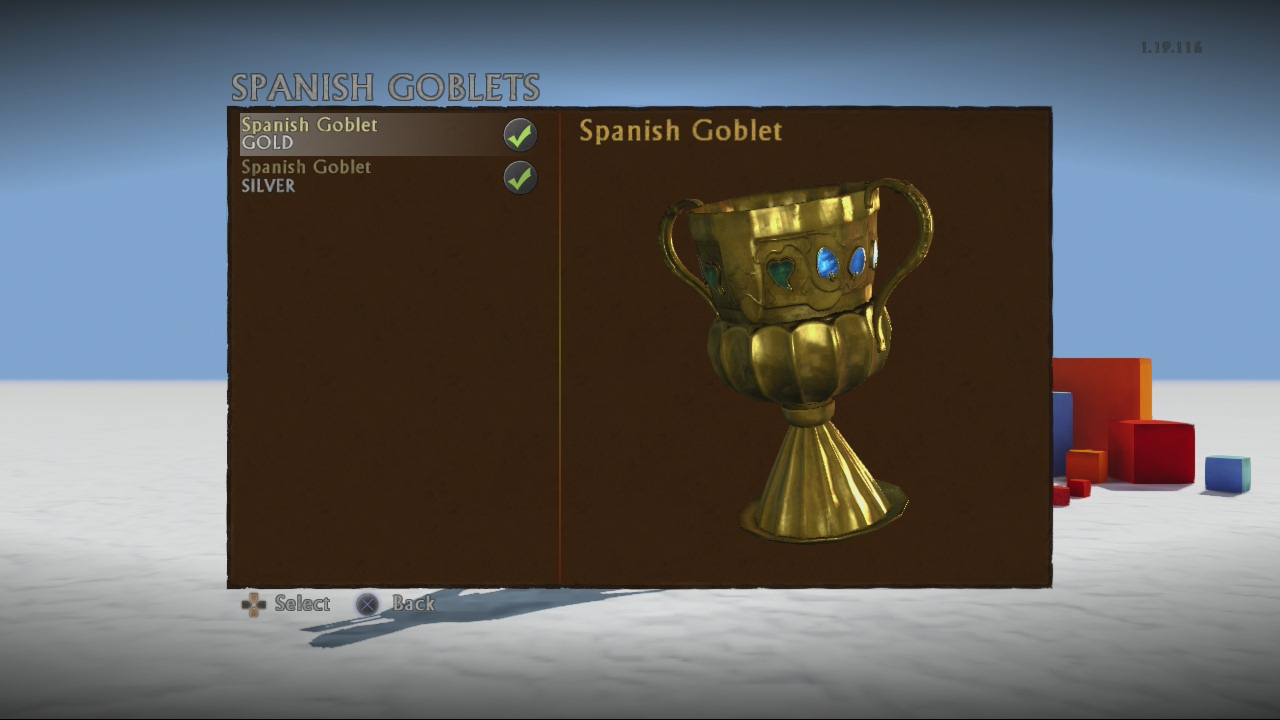 Spanish goblet (gold)