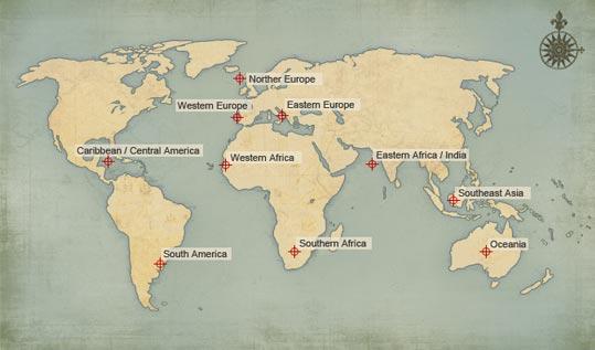 Uwo region map
