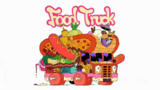 Food Truck Title Card