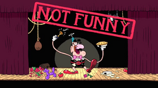Not Funny Title Card