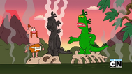 Mr. Gus, Belly Bag, and Uncle Grandpa in Uncle Caveman 014