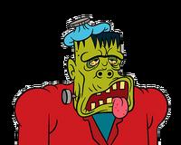 Sick frankenstein