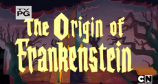 The Origin Of Frankenstein Title Card