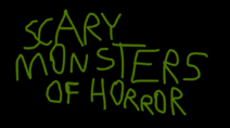 Uncle Grandpa's Adult Party Cartoon Scary Monsters Of Horror Title Card