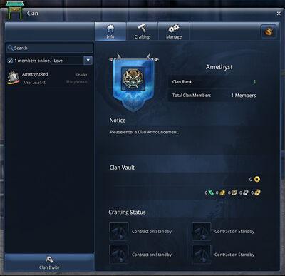 Bs news clan overview screenshot